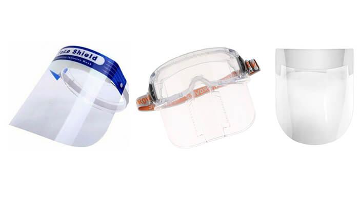انواع شیلد ایمنی محافظ صورت