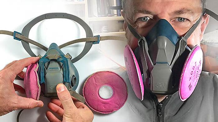 مدت زمان استفاده از فیلتر ماسک و زمان تعویض فیلتر ماسک شیمیایی