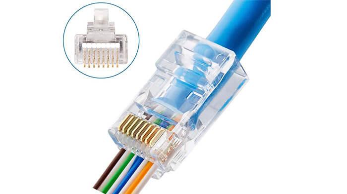 انواع سوکت شبکه