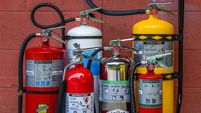 انواع کپسول آتش نشانی با بهترین قیمت