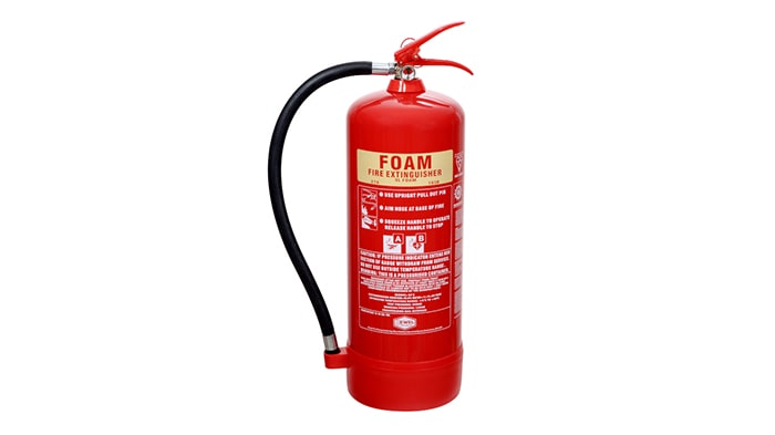 کپسول آتش نشانی فوم