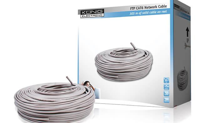 بسته بندی کابل شبکه
