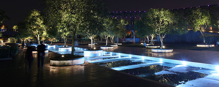 نورپردازی شهری