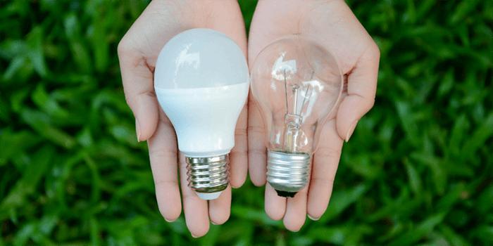 تفاوت لامپ ال ای دی و لامپ رشته ای