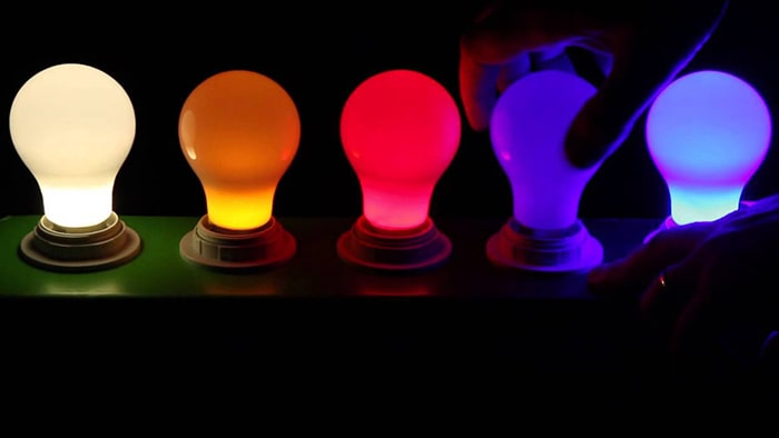 قیمت لامپ ال ای دی رنگی
