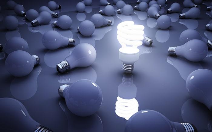 مزایای لامپ های کم مصرف