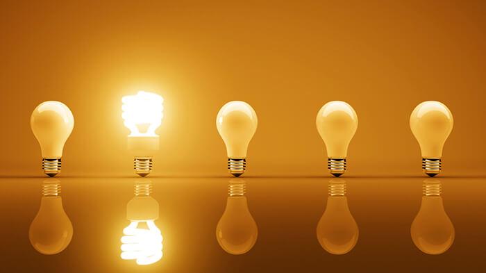 تفاوت لامپ ال ای دی و لامپ کن مصرف