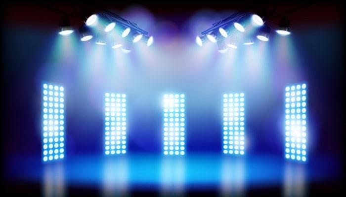 ابعاد و وزن رقص نور