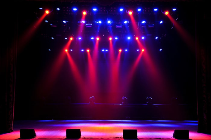 نوع و تعداد چراغ رقص نور