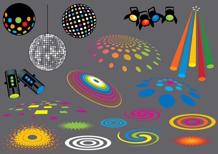انواع رقص نور