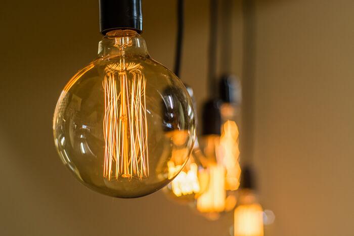 اجزای تشکیل دهنده لامپ فیلامنتی