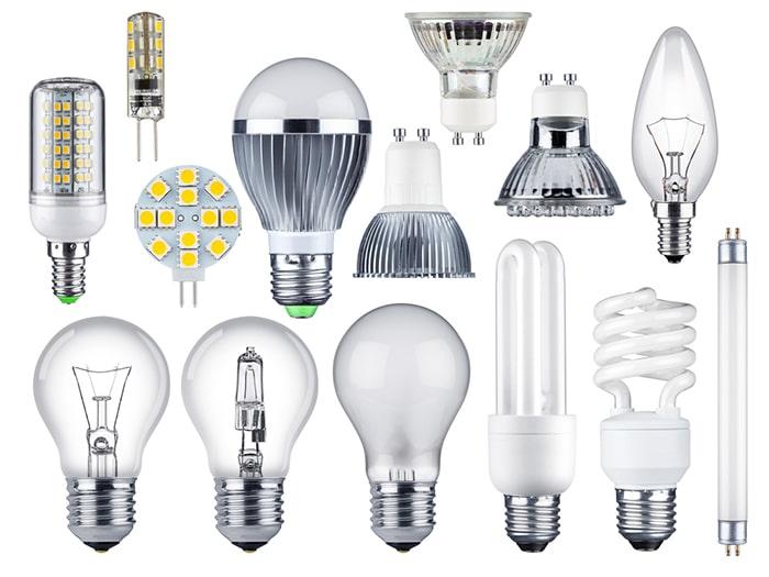 نوع تکنولوژی لامپ