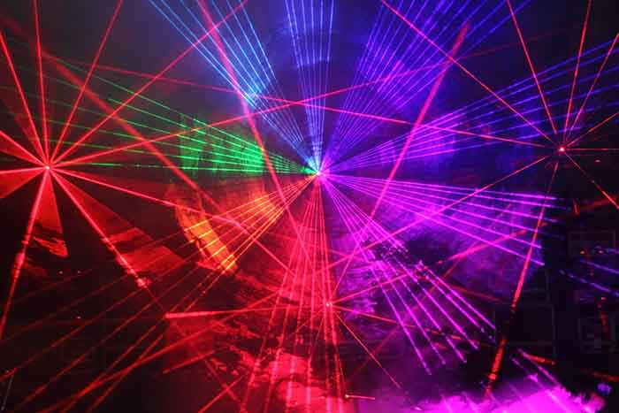 لیزر نورپردازی
