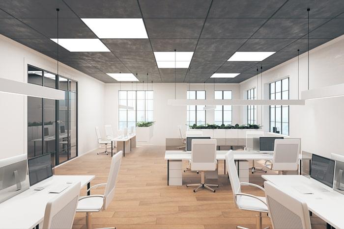 استاندارد نورپردازی دفتر کار