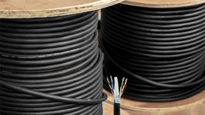 تفاوت کابل شبکه indoor و outdoor