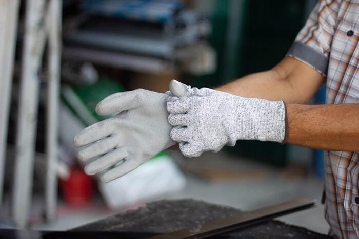 سایز دستکش ضد برش