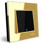 کلید-تک-پل-توکار-ویرا-الکتریک-مدل-امگا-طلایی-طلایی-مشکی0