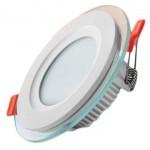 پنل-SMD-توکار-9-وات-باراد-نور-مدل-دور-شیشه-ای-دایره-ای0