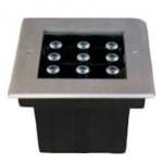 چراغ-دفنی-50-وات-RGB-گلنور-مدل-فلورین-2-مربعی-IP670