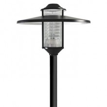 چراغ-پارکی-23-وات-مازی-نور-M6FLRCFE-BL-مدل-فلورا-IP540