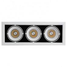 چراغ-سقفی-توکار-اسپات-لایت-18*3-وات-هانی-نور-مدل-X90B-30