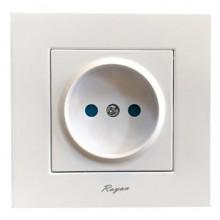 پریز-برق-توکار-رویان-الکتریک-مدل-وتو-سفید0