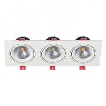 چراغ-سقفی-توکار-24*3-وات-شعاع-مدل-SH-6503-3*24W0