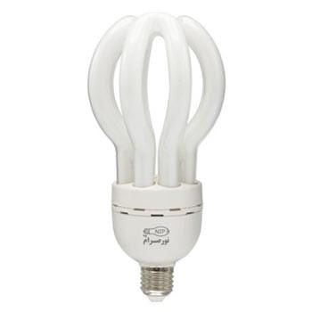 لامپ کم مصرف 60 وات نور صرام پویا مدل اتحاد سرپیچ E27