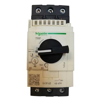 رله حرارتی-مغناطیسی  65 آمپر AC اشنایدر مدل GV3P65