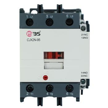 کنتاکتور 95 آمپر ISBS با بوبین 48 ولت AC مدل ISDC95F-C