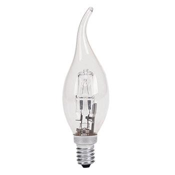 لامپ-هالوژنی-شمعی-اشکی-28-وات-پارس-شهاب-شفاف-سرپیچ-E140