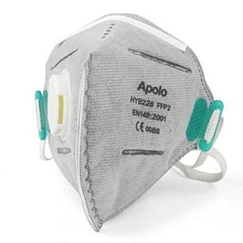 ماسک-تنفسی-سوپاپ-دار-کربن-اکتیو-آپولو-مدل-82260