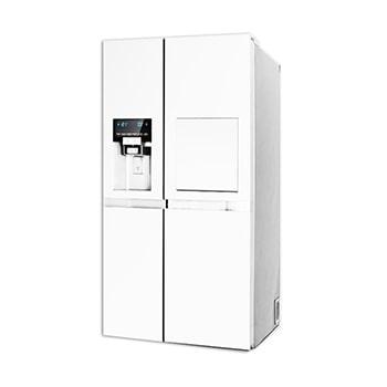 یخچال فریزر ساید بای ساید دوو مدل D2S-3033 سفید براق