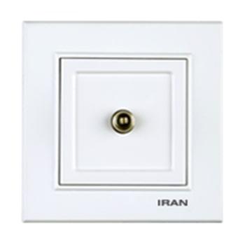 فیش آنتن SAT توکار ایران الکتریک مدل برلیان سفید