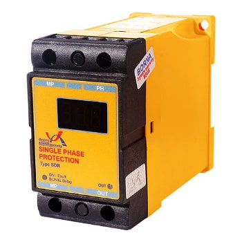 رله-محافظ-ولتاژ-تک-فاز-دیجیتال-برنا-الکترونیک-مدل-SDR0