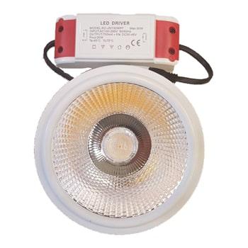 چراغ-سقفی-COB-توکار-اسپات-لایت-30-وات-کی.اچ-مدل-Ar1110