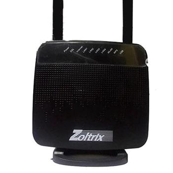 مودم روتر ADSL بی سیم زولتریکس مدل ZW888n