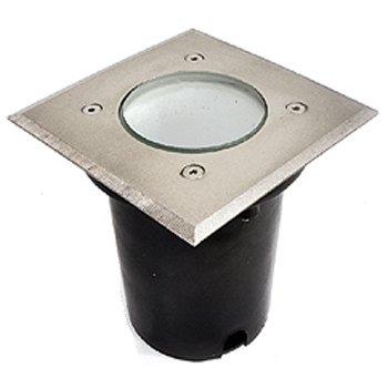 چراغ دفنی زمرد نور مدل ونوس مربعی IP65 سرپیچ GU10
