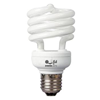 لامپ-کم-مصرف-20-وات-افراتاب-مدل-20HSP-T2-PTC-سرپیچ-E270