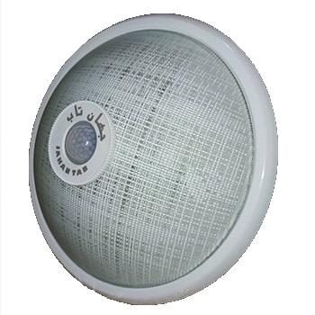 چراغ-سقفی-سنسوردار-روکار-جهان-تاب-فلزی-سرپیچ-E270