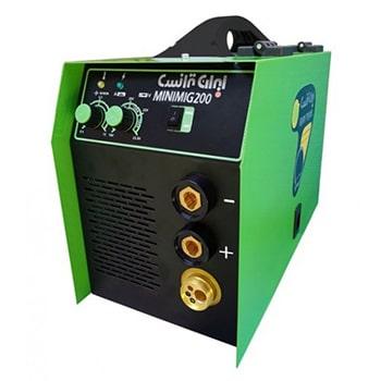 دستگاه جوش اینورتر میگ مگ (CO2) و الكترود 200 آمپر ایران ترانس مدل MINIMIG200