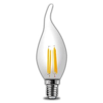 لامپ-ال-ای-دی-اشکی-فیلامنتی-4-وات-پارس-شعاع-توس-آفتابی-سرپیچ-E140