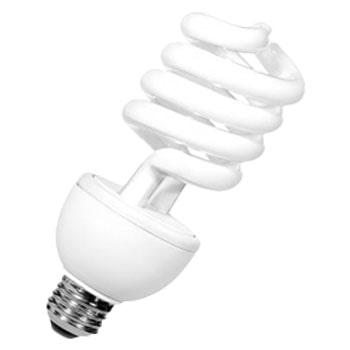لامپ کم مصرف 25 وات نور مدل نیم پیچ NES-HS25W سرپیچ E27