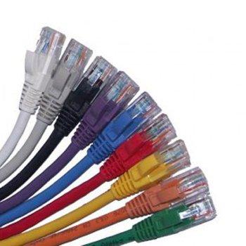 پچ-کورد-رنگی-Cat6-UTP-اشنایدر-اکتاسی-0.5-متری0