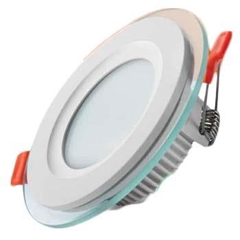 پنل SMD توکار 9 وات باراد نور مدل دور شیشه ای دایره ای