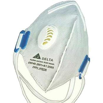 ماسک-تنفسی-سوپاپ-دار-کربن-اکتیو-دلتا-مدل-FFP2-N950