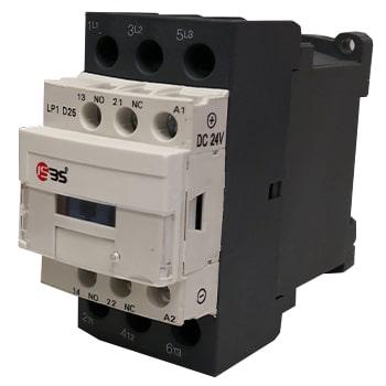 کنتاکتور 12 آمپر ISBS با بوبین 24 ولت DC مدل ISDC12G-D