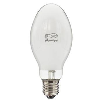لامپ بخار جیوه بیضوی 250 وات نور صرام پویا سرپیچ E40