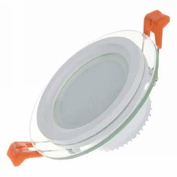 پنل-SMD-توکار-7-وات-اپتونیکا-مدل-OP-5207-Glass-دایره-ای0