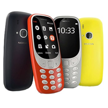 گوشی موبایل نوکیا مدل 3310 - 2017 دو سیم کارت